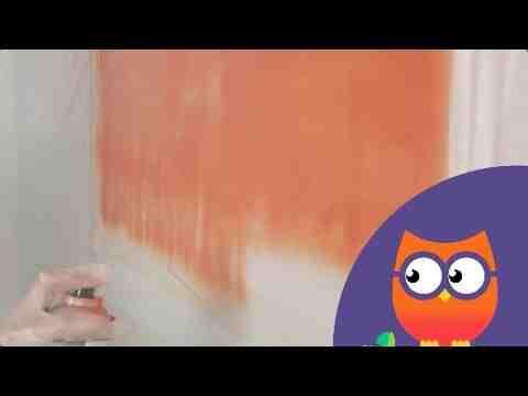 Comment peindre à la bombe sur toile ?