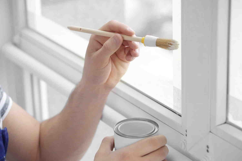 Quelle peinture pour peindre une fenêtre en PVC ?